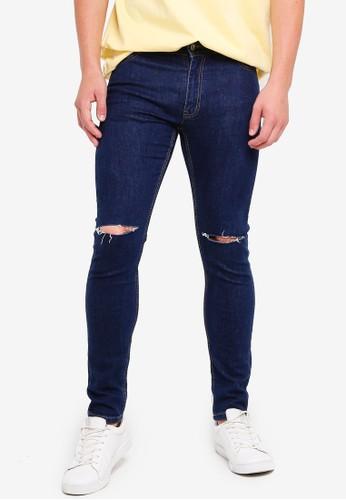 MANGO Man blue Mango Man Jeans 8D3DAAA46EC11EGS_1