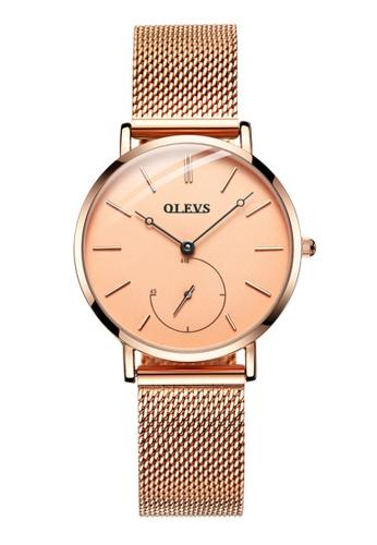 OLEVS multi Olevs Classic Mins Tracker Women Stainless Quartz Watch C0AD8ACA5AC3E6GS_1