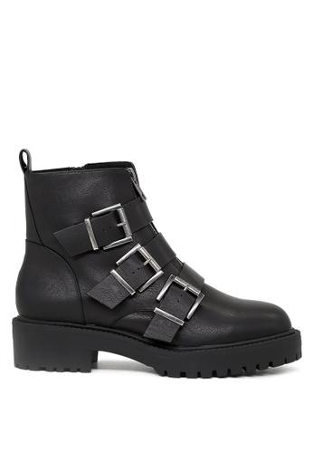 London Rag 黑色 Briana 短靴 SH1688 36A9CSH3D1A8E2GS_1