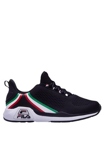 FILA black RJ-Retro Sport Shoes 058D5SH8F3CECDGS_1