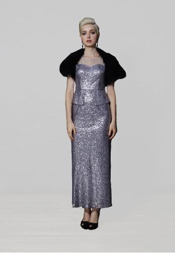 高級手工esprit服飾時尚貴氣全亮片晚宴禮服, 服飾, 服飾