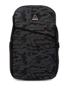 Reebok black Style Found Grip Backpack 2758CACECCFAAEGS 1
