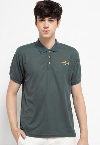 Sport High green Polo Shirt Short Sleeve FA140AA4997092GS_1