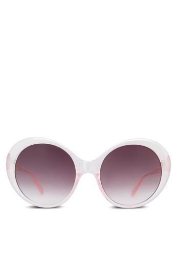 時尚圓框太陽眼鏡, 飾品配件esprit 衣服, 大框