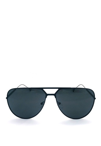 Kaca-kaca black Kaca Kaca Jordon Sunglasses 34708GLD33EC6EGS_1