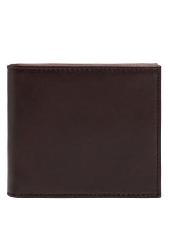 MANGO Man brown Faux-Leather Wallet 72842ACE862E3AGS_1