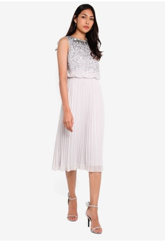 05861154660138 Lipsy Sofia Silver Emb Midi Dress HK$ 1,589.00. Sizes 6 8 10 12 14