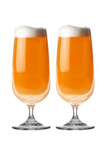Crysalis n/a Beer Goblet Cocktail Glass 421ml - 14.23oz Set of 2 C2C90HL4065C6EGS_1