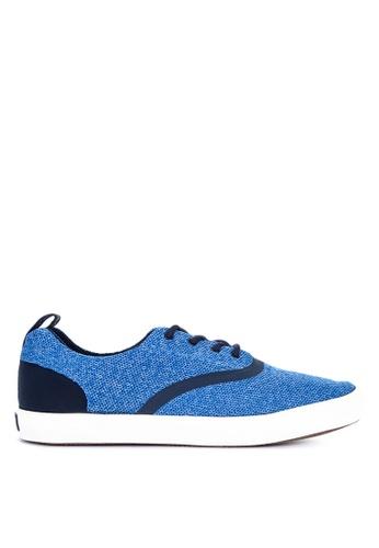 Sperry blue Flex Deck CVO Knit Sneakers D2B8ESHE818B6CGS_1