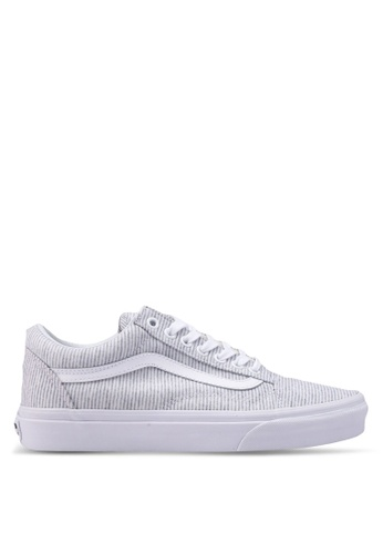 VANS grey Old Skool Jersey Sneakers VA142SH0SWTMMY_1