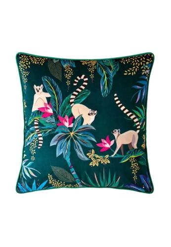 Sara Miller green Sara Miller London - Cushion 50x50cm - Green Lemur F2949HL2959168GS_1