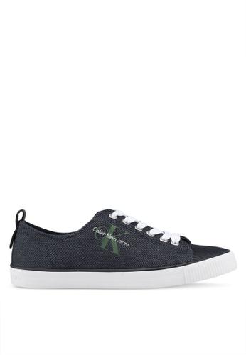 Calvin Klein 藍色 Dora 運動鞋 A0A87SH5E3BA83GS_1