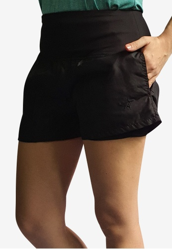 Allstar black Double-Layered Training Shorts D0DCAAA5B58615GS_1