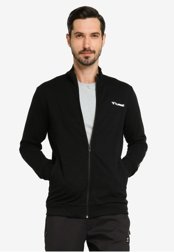 Hummel black Isam Zip Jacket A8796AA7AD9543GS_1