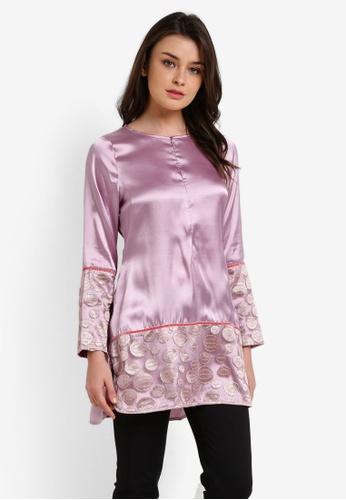 Najjah pink Lace Top NA225AA0RBQBMY_1