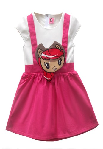 TWO MIX pink Two Mix Baju Anak Perempuan / Dress Anak Cewek Little Pony 2972 37A53KACA6DE91GS_1