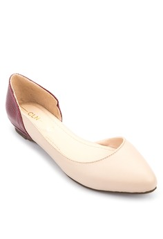 Pointed D'orsay Flats