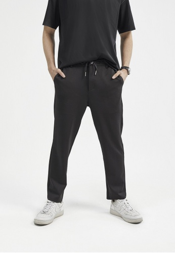 ANDY SULAIMAN black FAOUZI BLACK JOGGERS 1A09EAA32C1DB2GS_1