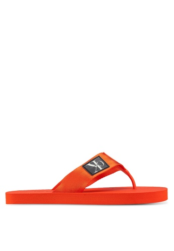 Calvin Klein orange Ocean Sandals 1C045SH1103F31GS_1