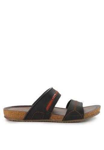 EKYDO black Sandal Kosovo 02 M 36F84SH94941EBGS_1