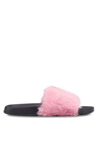 Rubi pink Wild Slide Sandals F47FFSHCBE014CGS_1