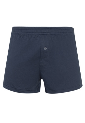 Sunjoy blue Boxer Shorts with Button 078EEUS426EFEBGS_1