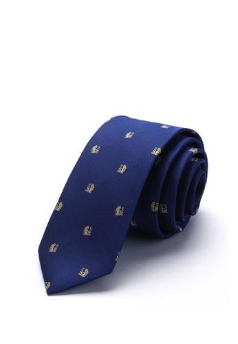 Goldlion blue Goldlion Horoscope Tie-Virgo 07AA7AC2CDC747GS_1