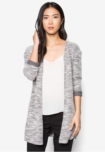 簡約開間長袖外套, 服飾, 毛衣&zalora 台灣門市amp; 針織外套