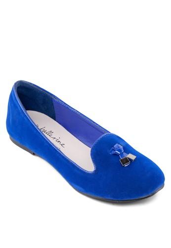 esprit 台北小方墜飾樂福鞋, 女鞋, 船型鞋