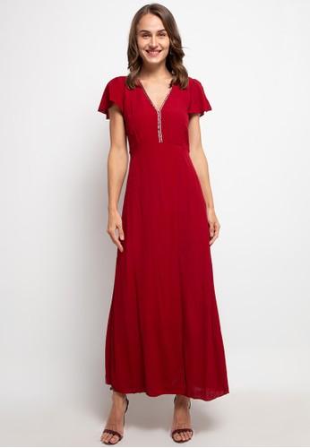 The Ocean Bali red Mega Dress 2F7E2AA3E3C3E9GS_1