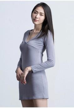 Hug Away Bodycon Dress