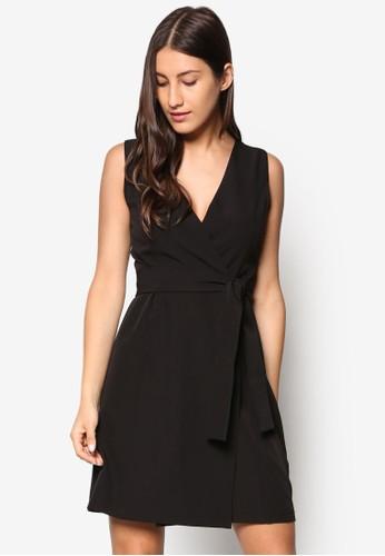 Colleesprit服飾ction 腰帶直筒式洋裝, 服飾, 正式洋裝