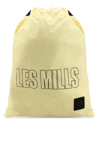 Reebok yellow Studio Les Mills Gymsack 84C6EAC5A11289GS_1
