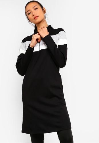 AVIVA black Long Sleeve Top E2596AA19A7F81GS_1