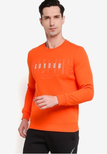 361° orange Basketball Series Turtleneck Sweater 8ECF7AAB4EDFA8GS_1