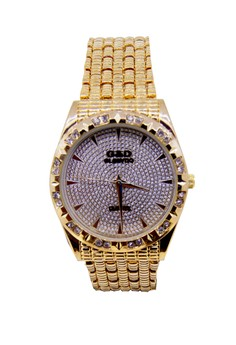 Japan Design 18K Plating Chain Watch