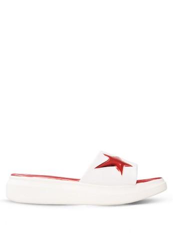 CLARETTE white Clarette Sandal Katya - White CL076SH35DYIID_1