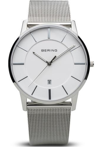 Bering silver Bering Classic White 39 mm Unisex Watch (13139-000) E82E0AC3EA2F22GS_1