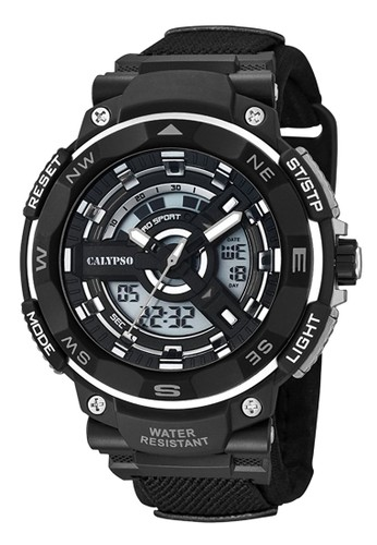 Calypso grey Sporty Men's Watches CAL K5673/4 8AC04AC3CC2C3FGS_1