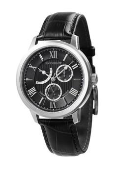 Thomas Earnshaw Men's Genuine Leather Strap Watch - ES-8060-01