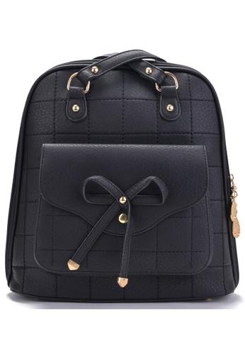 Vince black Korean Designed Minimalist BackPack ( Black ) VI456AC15VEUMY_1