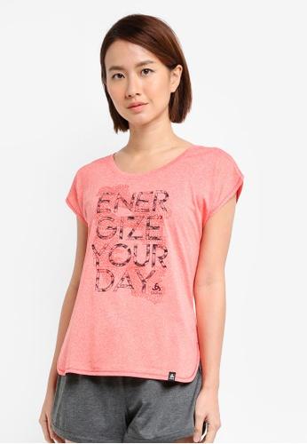 Odlo pink Helle Short Sleeve T-Shirt B51A6AAA205D57GS_1