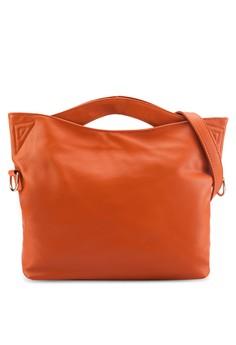 Bagstationz Soft Supple Convertible Satchel Bag