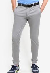 Boss Green grey Lukes 7-1 Pants - Boss Athleisure BO516AA80MDJMY_1