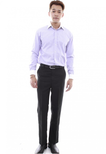 MSHRetail black Business Pants (Black) MS585AA26TZDSG_1