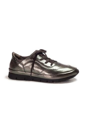 Shu Talk black XSA Metallic Leather Stylish Sneakers A15E0SH217344EGS_1