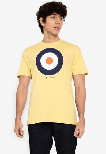 Ben Sherman yellow Target Tee 229F1AABC7E503GS_1