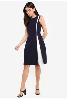 03512f7eab7b1 31% OFF Vesper Rowena Mini Dress With Contrast Panels S  104.90 NOW S   71.90 Sizes 6 8 10 12 14