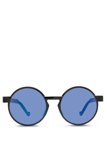 JP0277 圓框太陽眼鏡, 飾品配件, 飾品zalora是哪裡的牌子配件