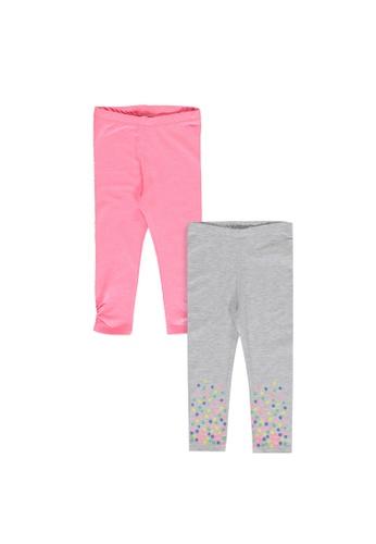 LC Waikiki pink 2-Pack Baby Girl Leggings 2520AKAA3DE9EAGS_1